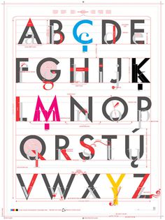 Pop Chart Lab #alphabet #typography