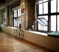 Collection of rooms for your inspiration — 21 @ ShockBlast #interior #home #bike #rooms