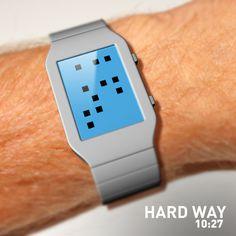 Hard Way Watch #design #futuristic #gadget #industrial #concept #art
