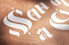 Son Of A Gun — stellavie design manufaktur #print #silkscreen #typography