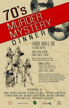murder-mystery-dinner-poster | Flickr - Photo Sharing! #yoshinaga #murder #shana #mystery #poster
