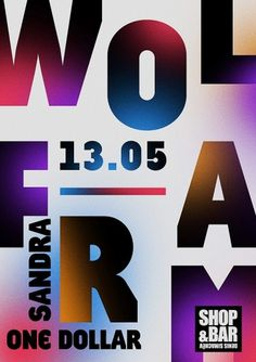 Wolfram poster - Young & Fresh #design #graphic #poster