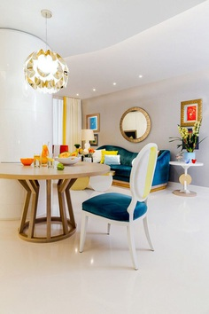Urban Classy Home Designed by HNK in Plenty of White and Vivid Colors 4