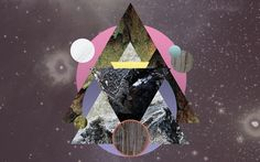 Avracadavra on the Behance Network #pogo #geometry #avracadavra #space #mystical #collage