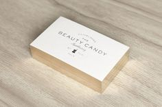 Beauty Candy branding #business #branding #design #graphic #cards