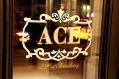 Ace Hotel / Signage: Neon, Windows, Wayfinding / The Official Manufacturing Company #ace #hotel #omfgco