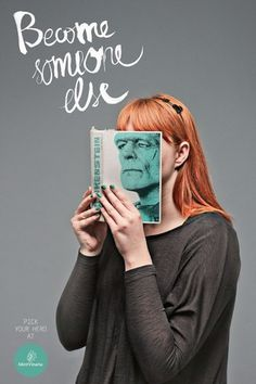 Become Somebody Else | Fubiz™ #print #idea