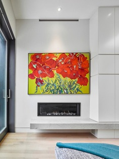 fireplace, VFA Architecture + Design