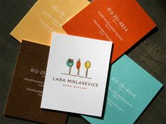 Creative Business Cards #food #cards #business