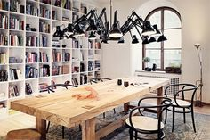 Dining / Work table #interior #table