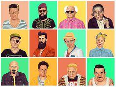 #illustration #hipster