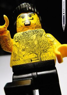 legot6 #figures #tattooed #lego #tattoos
