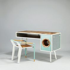 Soundbox desk #furniture #design #desk