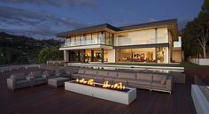 Imposing Sunset Strip Residence in LA With Extensive City Views #modern #design #home #architecture #residence