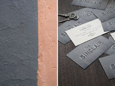 The Sinclair on Behance #card #collateral #business #restaurant