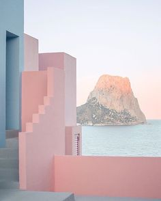 La Muralla Roja, Spain by architect Ricardo Bofill