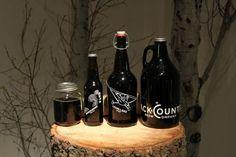 Backcountry Brew Company Bottles #packaging #beer #label #bottle