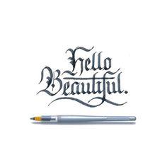 Heyyyyy 😍 - #lettering #calligraphy #calligraphypractice #handmadefont #handlettering #thedailytype #typegang #goodtype #strengthinletter