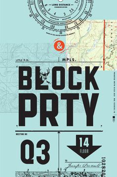 Ian Davies: ACD / Total Design Badass | Allan Peters' Blog #serif #sans #black #map #poster #blue #collage