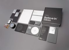allinthe.name | Identity design and inspiration #believe #design #identity #stationery