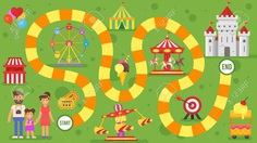79474096-vector-flat-style-illustration-of-kids-amusement-park-board-game-template-for-print-.jpg (1300×731)