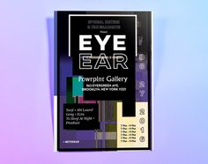 Eye Ear Event Poster Front