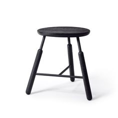Stool NA3 by Norm.Architects for &Tradition. #normarchitects #stool #black #andtradition #minimalism