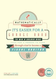 FMB Preparatory Course: Mathematically speaking, 3   Ads of the World™ #poster