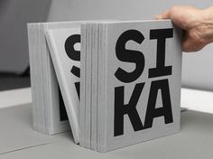 MY TUM—BLR IS BET—TER THAN YOURS - SIKA Jubilee Book – Saint-Gobain Ceramic Materials #type #design #book