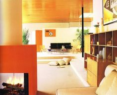 WANKEN - The Blog of Shelby White » The Interiors of Mid-Century Modern #interior #modern #design #living #vintage #midcentury #room