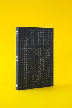 The Milan Review of the Universe is now on sale in our store | The Milan Review #cover