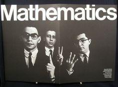 Toutes les tailles | Vintage Pratt Institute Poster - Prattonia 1967 - Mathematics | Flickr: partage de photos!