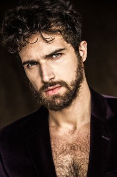 Pinterest #sexy #beard #rugged #hot #portrait #man