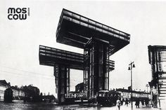 Moscow History. Lissitzky Architecture