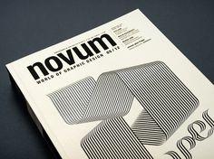 EIGA Design novum cover #gebrauchsgraphik #paper #novum #magazine