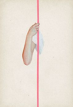arm and pink line #layout #graphic #line #symmetry #pink #arm #blush
