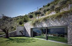 Casa MT is a private home located in Traona, Italy. #interior #design #space #architecture #room