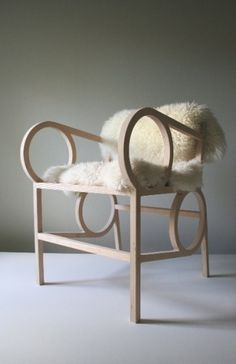 It's the MailboxTees blog! :: design :: art :: tech :: shopping :: #chair #design #contemporary #wood #kurtz #christopher #work