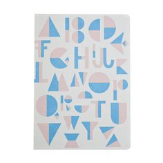 #nordic #design #graphic #illustration #danish #bright #simple #nordicliving #living #interior #kids #room #notebook #alphabet #blue #rosa