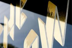 AFOM_TheTownMouse_04 #restaurant #vinyl #gold #signage #foil
