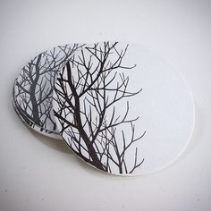 Branch Coasters | Paper Hammer | Seattle, WA #coaster #tree