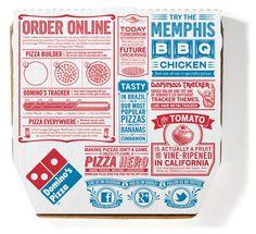 Embalagem Domino Pizza