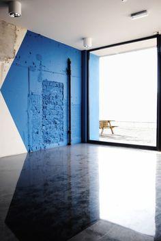 残り物 #architecture #geometric #blue