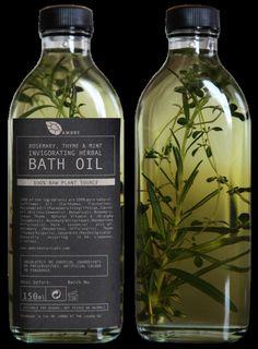 Bath Oil Packaging