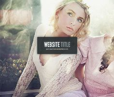 Gleam #design #theme #blog #wordpress #fashion #web