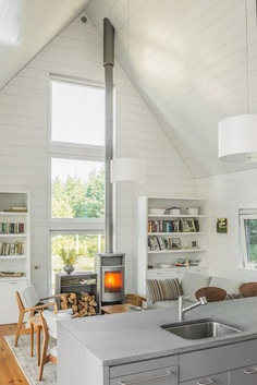 This Cranberry Isles House is a Modern Interpretation of the Traditional New England Farm 5