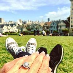 This enchanting engagement ring has me going gaga