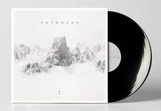 Sky Rocks Album Art on the Behance Network #cover #album #nicholas #thompson