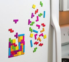 Tetris Magnet Set #gadget