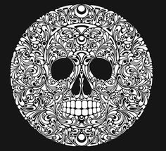 FFFFOUND! | Skulls - And there will be Unicorns